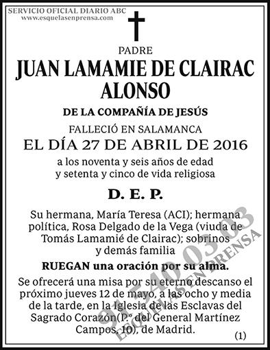 Juan Lamamie de Clairac Alonso